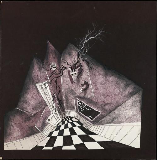 Тим Бартон в роли художника. Изображение № 16.