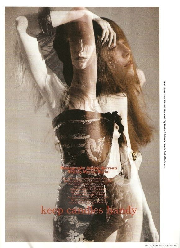 "I-D magazine ""Keep Candles Handy"" May 2009. Изображение № 1."