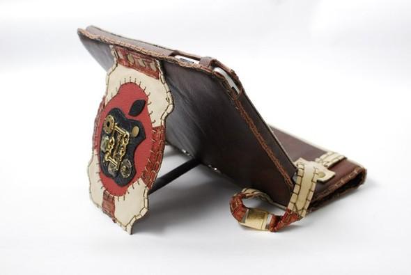 Кожанные чехлы для ipad ручной работы. Изображение № 1.