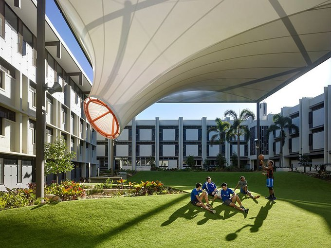 Фотограф: Christopher Frederick Jones / Здание: Nudgee College (Квинсленд, Австралия) / Бюро:  M3 Architecture / Категория: «Эксплуатация». Изображение № 14.