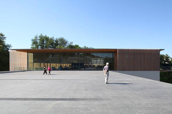 Мультимедийный центр Oloron-Sainte-Marie во Франции. Изображение № 3.