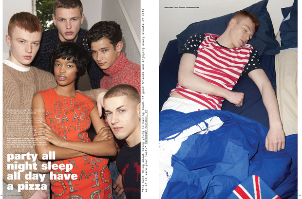Мужские съемки: Dazed & Confused, i-D, Citizen K, Seventh Man и Men's Folio. Изображение № 1.