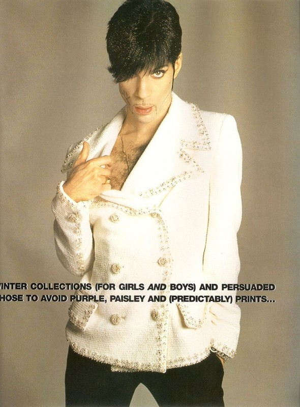 Архивная съёмка: Принс в Versace в объективе Ричарда Аведона. Изображение № 2.