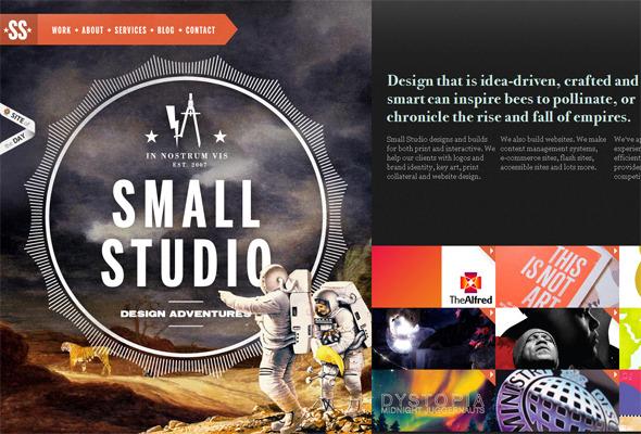 Подборка невероятных сайтов веб-дизайн студий. Изображение № 18.