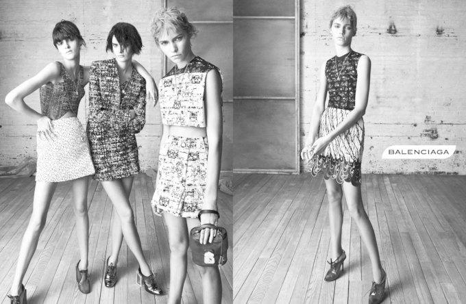 Balenciaga, Jill Stuart и Loewe показали новые кампании. Изображение № 1.