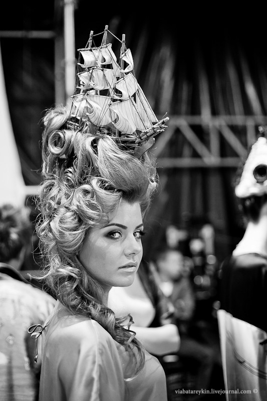 Backstage Ukrainian Fashion Week. Изображение № 20.