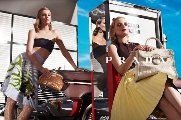 Кампания: Prada SS 2012. Изображение № 12.