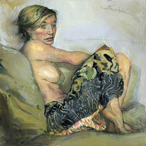 Картины маслом отКента Уильямса (Kent Williams). Изображение № 19.