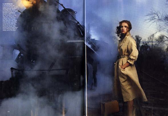 Водянова и Пи Дидди: Любовь в поезде. Изображение № 5.