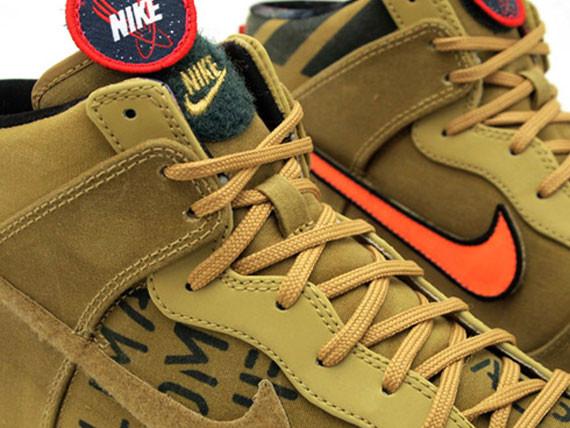 Nike Dunk High Premium QS All-Star 2012 Pack. Изображение № 7.