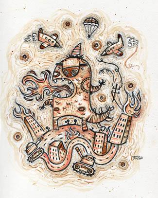 Иллюстратор Alberto Cerriteo. Изображение № 13.
