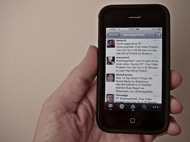Twitter начал размещать рекламу в профилях пользователей . Изображение № 1.
