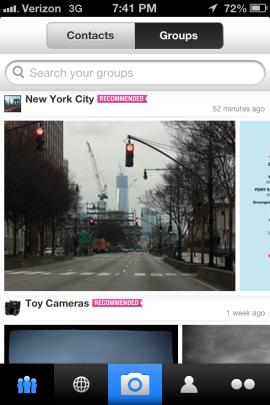 Вышло новое мобильное приложение Flickr. Изображение № 2.