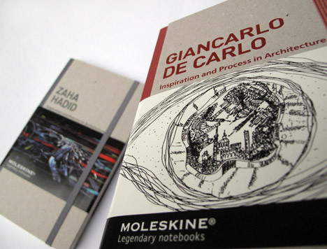 Moleskine Inspiration And Process In Architecture. Изображение № 7.