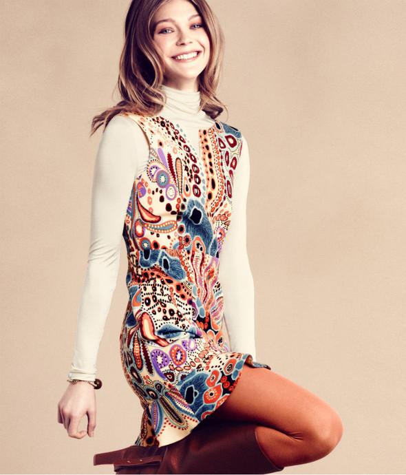 Лукбук: Саша Пивоварова для H&M FW 2011. Изображение № 7.