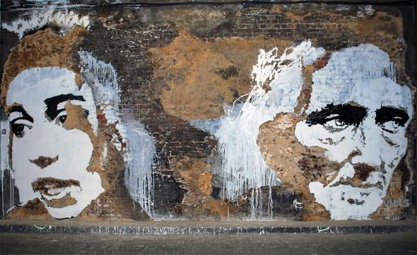 Изображение 1. Субтрактивная настенная живопись.. Изображение № 1.