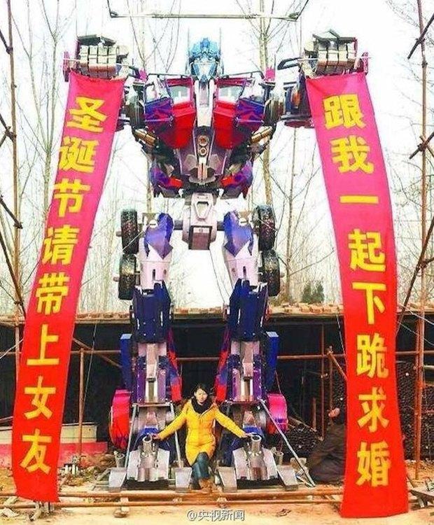 Японский трансформер сделал предложение девушке. Изображение № 1.