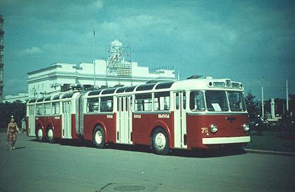 Первые троллейбусы. Изображение № 15.
