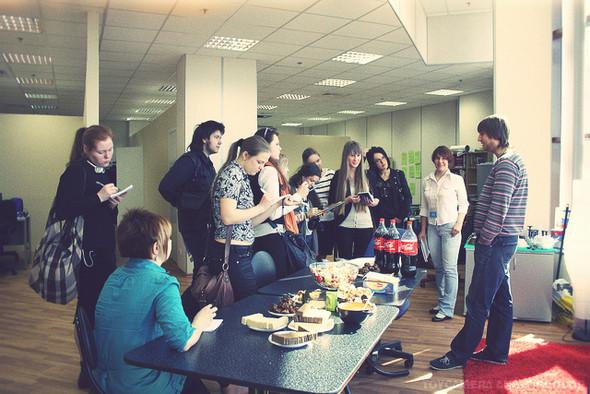 Изображение 8. Яндекс и e-Legion открыли свои двери для школьников.. Изображение № 7.