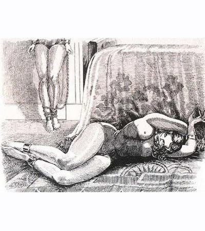 Рисунок неизвестного художника, 1930-е. Изображение № 5.