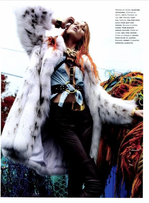 Съёмка: Карли Клосс для Numero. Изображение № 6.