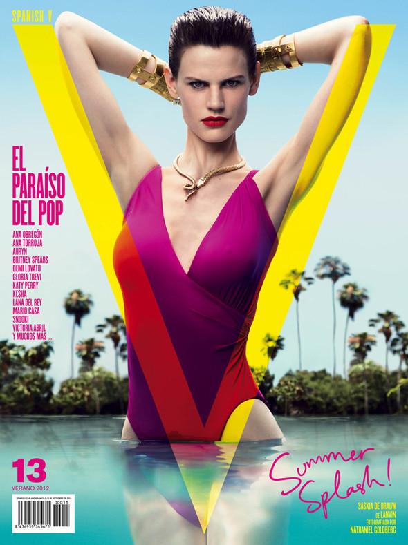 Обложки: Vogue, V, W и другие. Изображение № 2.