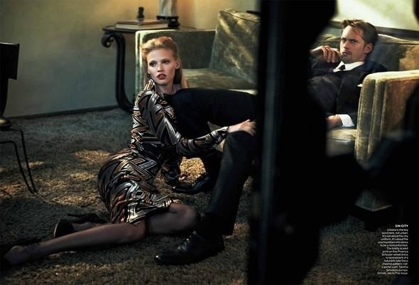 Изображение 50. Съёмки: Harper's Bazaar, Vogue, W и другие.. Изображение № 49.