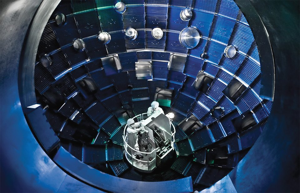 Как выглядит комплекс с самыми мощными лазерами в мире. Изображение № 1.