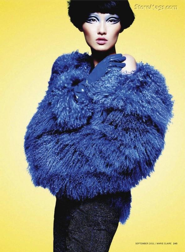 Съёмка: Ван Сяо для Marie Claire. Изображение № 6.