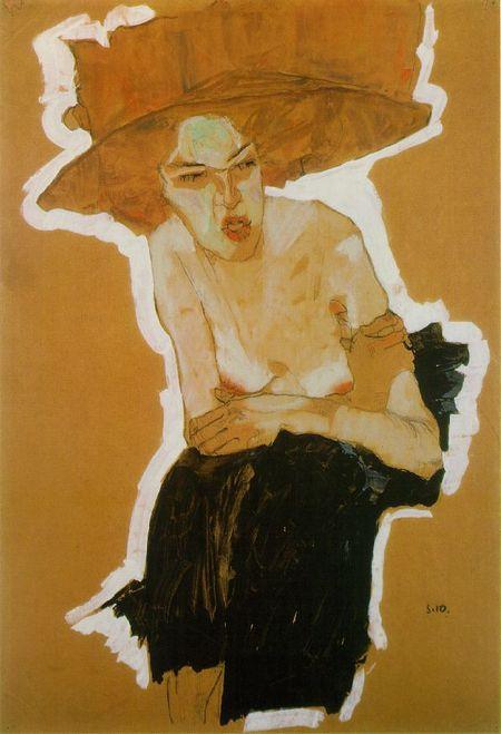 Эгон Шиле. Эротика вискусстве живописи ирисунка. Изображение № 26.