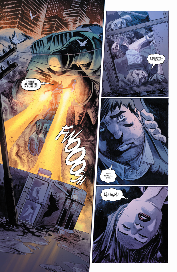 В комиксах новым Бэтменом стал комиссар Гордон. Изображение № 5.