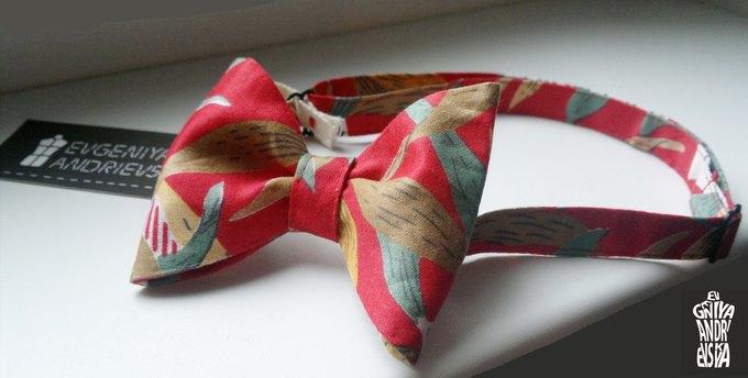 Фееричные галстуки - бабочки от дизайнера Евгении Андриевской.. Изображение №3.