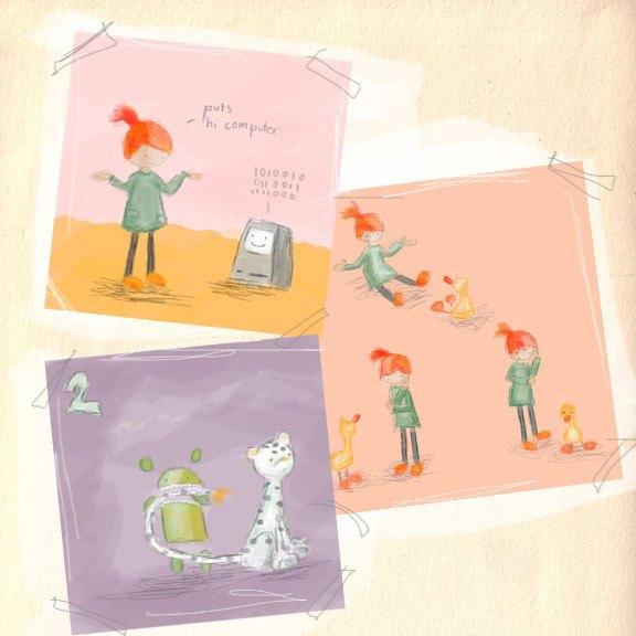 Детская книжка о Ruby собрала $200 тысяч на Kickstarter. Изображение № 2.