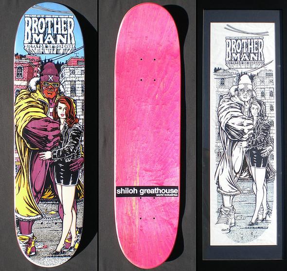 К доске: 10 художников-скейтбордистов. Изображение №91.