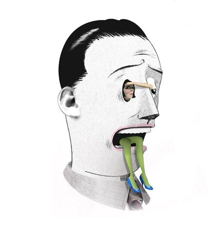 Юношеский Сюрреализм – Иллюстрации Брэтта Райдера. Изображение № 20.