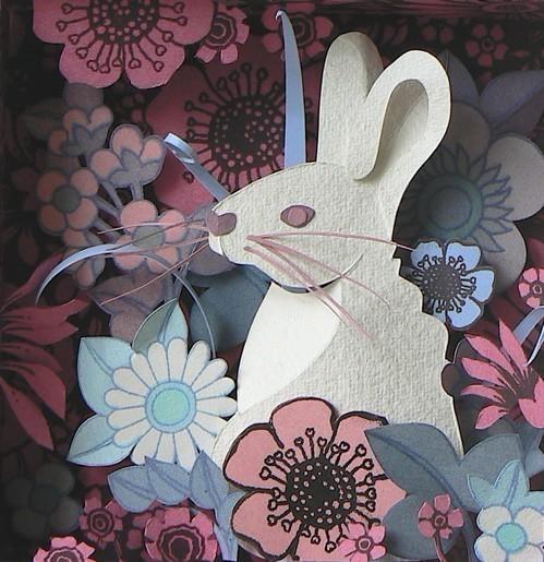 Бумажные картины-аппликации Helen Musselwhite. Изображение № 23.