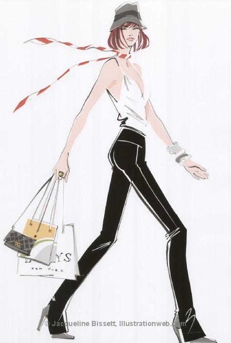 Иллюстратор Жаклин Биссет. Изображение № 46.