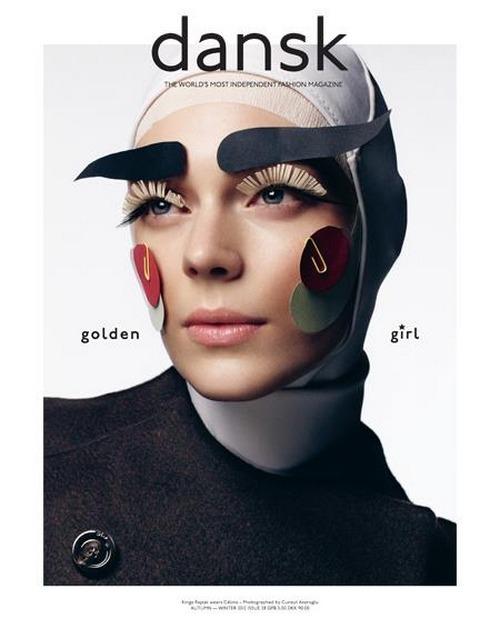 Под прикрытием: Новые обложки Dansk, i-D, Richardson, Surface, Vogue. Изображение № 1.