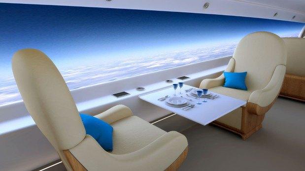 В сверхзвуковых самолётах окна заменят на дисплеи. Изображение № 3.