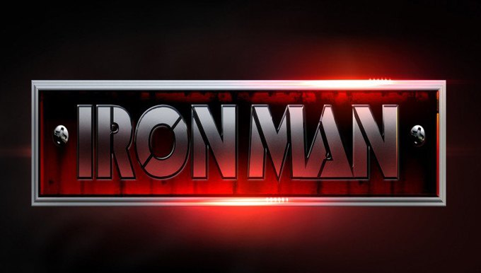 Художник показал варианты логотипа «Железного человека» . Изображение № 5.