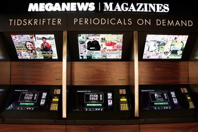 Киоски, печатающие журналы, могут спасти печатную индустрию. Изображение № 1.