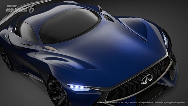 Концепт: суперкар Infiniti для игры Gran Turismo. Изображение № 32.