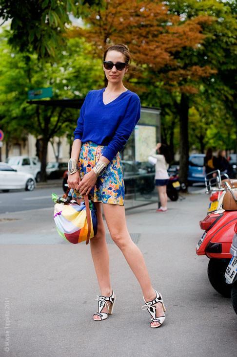 Уличный стиль на Неделе высокой моды в Париже. Изображение № 137.
