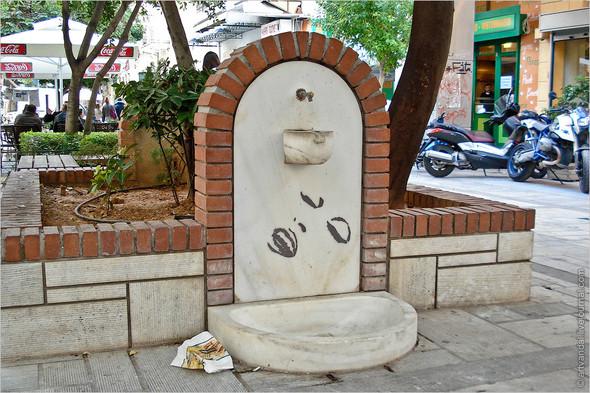 Стрит-арт и граффити Афин, Греция. Изображение № 19.