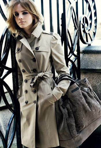 Emma Watson for Burberry : AutumnWinter 2009–2010. Изображение №1.