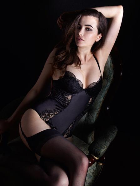 Лукбук осенне-зимней кампании бренда нижнего белья Myla. Изображение № 5.