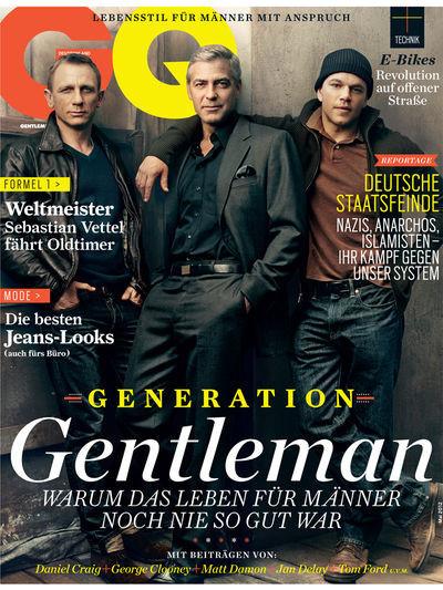 Анонс журнала GQ Германия. Изображение № 1.