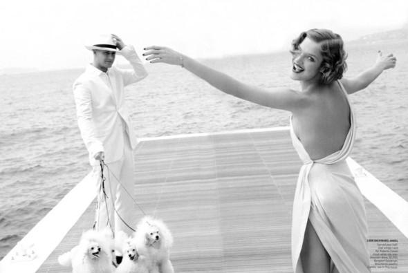 Архивная съёмка: Наталья Водянова в объективе Марио Тестино, 2007. Изображение № 2.