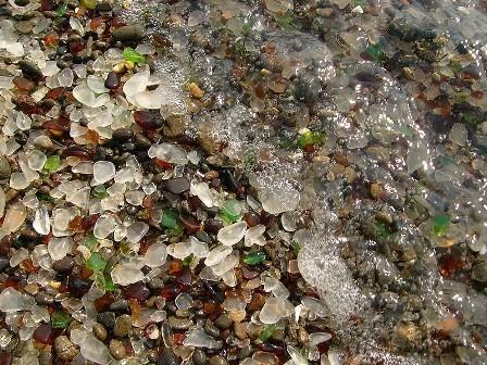 Стеклянный пляж в Калифорнии. Изображение № 1.