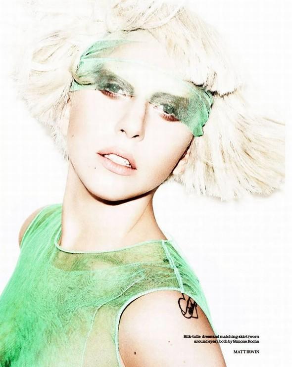 Съёмка: Леди Гага для Elle. Изображение № 1.